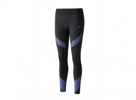 Mizuno BT Long Tights Sort/Blå Dame